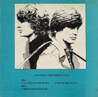 THE EVERLY BROTHERS In Italy EP Vinyl Record 7 Inch German Sunset Springer